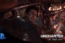 『Uncharted 4』のシングルプレイは1080p/30fps固定で動作 画像