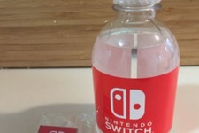 「Nintendo Switch」NY体験会の無料配布グッズにプレミア価格、「飲料水」に100ドルも