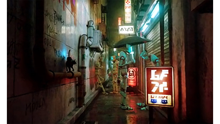サイバーパンクな路地裏を猫が散歩するアドベンチャーゲーム開発中! | Game*Spark - 国内・海外ゲーム情報サイト