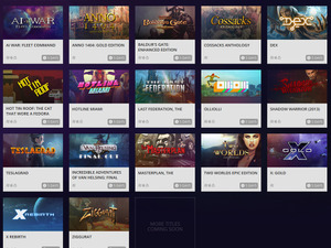SteamゲームをGOGで無料入手!「GOG CONNECT」新タイトル追加 画像
