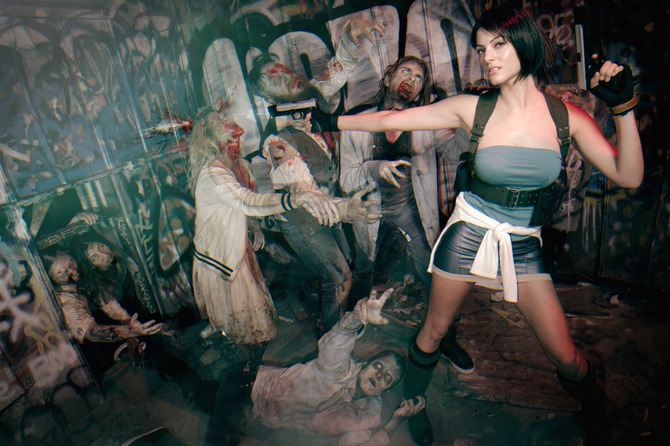 Jill Valentine Без одежды для GTA San Andreas