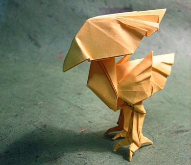 ハート 折り紙 : 折り紙 キャラクター 立体 : divulgando.net