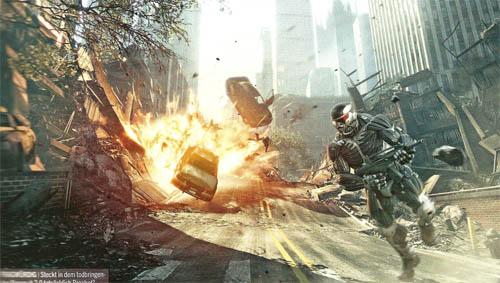 ニューヨークで市街戦!『Crysis 2』の海外マガジンスキャンが掲載 ...