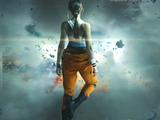 HTCのVRデバイス「Vive Pre」最新イメージ映像―『Portal 2』チェルのような人物も