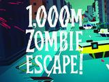 【60秒アプリタッチ】『1000m ゾンビエスケープ!』-くるくる回転してゾンビから逃げきれ
