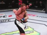 これは避けられない…『EA SPORTS UFC 2』で繰り出されたグリッチ軟体パンチ!