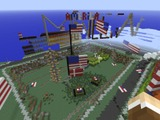 『Minecraft』デンマーク地理庁が国土を再現したワールドで首都爆撃 ― 跡地にはアメリカ国旗