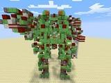海外『Minecraft』プレイヤーが制作した巨大ロボットが話題に、自走式で武装のリロードも可能