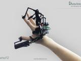 片手に装着する外骨格VRデバイス「Dexmo F2」が登場、近未来感溢れるテスト映像も公開中