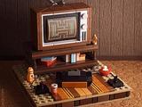 カスタムLEGOで「Atari 2600のある80年代ゲーム部屋」を再現!