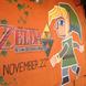 """『ゼルダの伝説 神々のトライフォース2』に登場する""""壁画リンク""""がゲームショップの壁に登場"""
