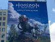 LAに『Horizon Zero Dawn』の巨大ポスターが登場!―E3 2016への期待高まる