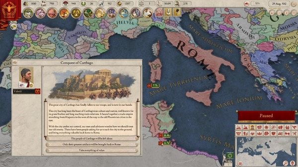 古代のロマンに想いを馳せる新作歴史ストラテジー『Imperator: Rome ...