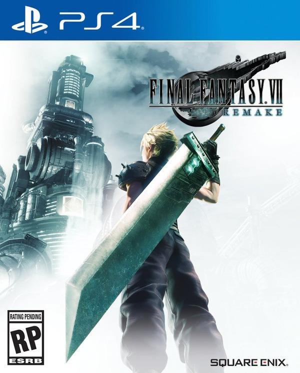北米・欧州版『FINAL FANTASY VII REMAKE』パッケージ公開!大剣を携えるクラウドの背中が再び