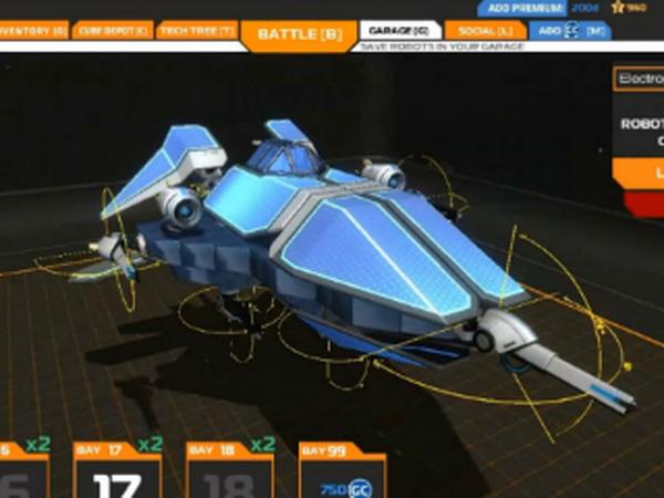 サンドボックス型TPS『ROBOCRAFT』のユーザー数が100万人を突破 | Game ...