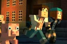 おなじみ世界観で紡がれる新作ADV『Minecraft Story Mode』約15分のプレイ映像! 画像