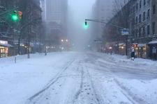 豪雪に見舞われた現実のニューヨークが『ディビジョン』さながらの光景に 画像