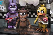 怖カワイイ『Five Nights at Freddy's』のフィギュアが海外発売決定! 画像