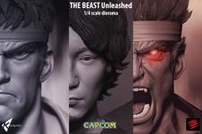 プロ格闘ゲーマーのウメハラがフィギュア化!―リュウとのジオラマセットで発売予定 画像