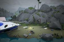 地図に無い島に漂着した父子が生き残るため協力するパズルACT『My Father My Son』発表