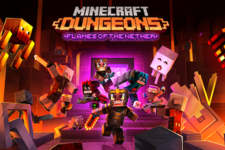 『Minecraft Dungeons』第4弾DLC「Flames of the Nether (ネザーの炎) 」2月24日配信―無料アップデートも予定 画像