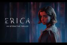 トラウマを抱えた女性が父親を殺した犯人を探す実写ADV『Erica』Steam版配信日決定 画像