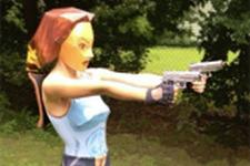 初代『Tomb Raider』のララ・クロフトを忠実に再現してしまったコスプレ 画像