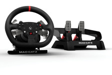 Mad Catz製Xbox One用ステアリングホイール「Pro Racing Force Feedback Wheel & Pedals」発売日決定 画像
