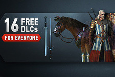 『The Witcher 3』では購入者全員に16のDLCを無料配信予定 画像