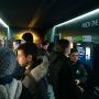 巨大Xbox Oneの中身は試遊台が用意されている