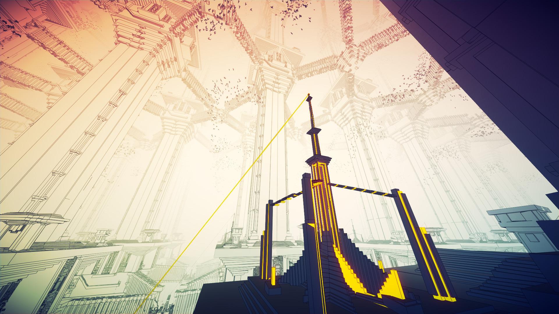 7年かけて開発されたエッシャー的世界観の一人称パズル Manifold Garden Steam版がリリース 3枚目の写真 画像 Game Spark 国内 海外ゲーム情報サイト