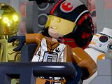 『LEGO スター・ウォーズ/フォースの覚醒』新共和国軍パイロットのポー・ダメロン紹介!最新日本語映像 画像