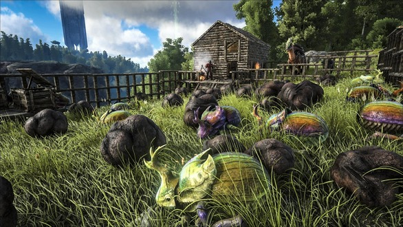 Xbox One『ARK: Survival Evolved』アップデート海外配信―分割画面などに対応