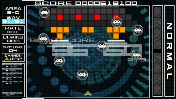 『SPACE INVADERS EXTREME』&『GROOVE COASTER』がSteam配信決定!―ティザームービー公開