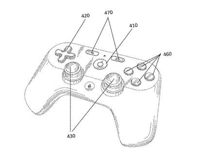 【ゲーム】Googleが独自のゲームコントローラー特許を出願ー新ゲームストリーミングサービス展開にも関連か