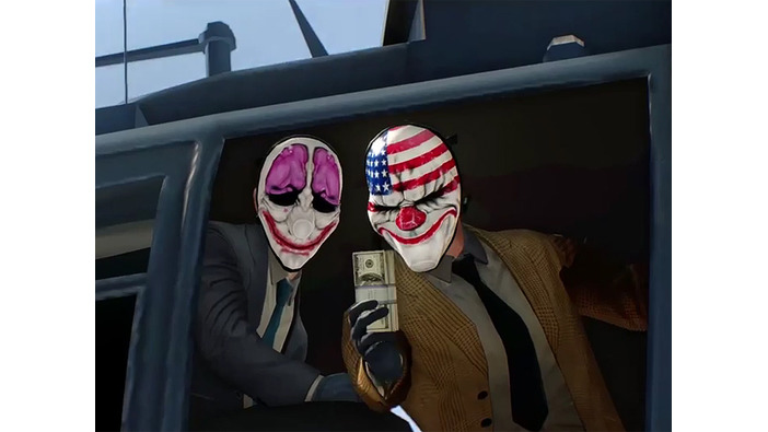 PS4/Xbox One『PAYDAY 2: Crimewave Edition』の発売日が決定―新たな紹介トレイラーも