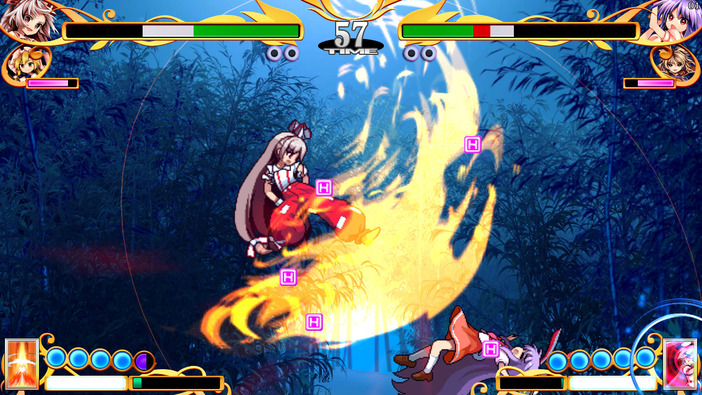 弾幕対戦ACT『東方憑依華 ~ Antinomy of Common Flowers.』Steam版配信日が決定