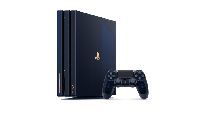 PlayStation 4 Pro 500 Million Limited Edition が8月24日発売決定!―全世界合計5万台限定の特別モデル