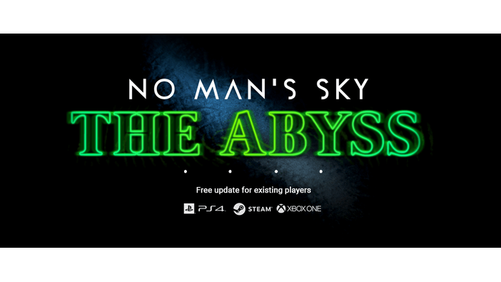 "『No Man's Sky』新アップデート「The Abyss」発表―""不気味""な要素が追加に?"