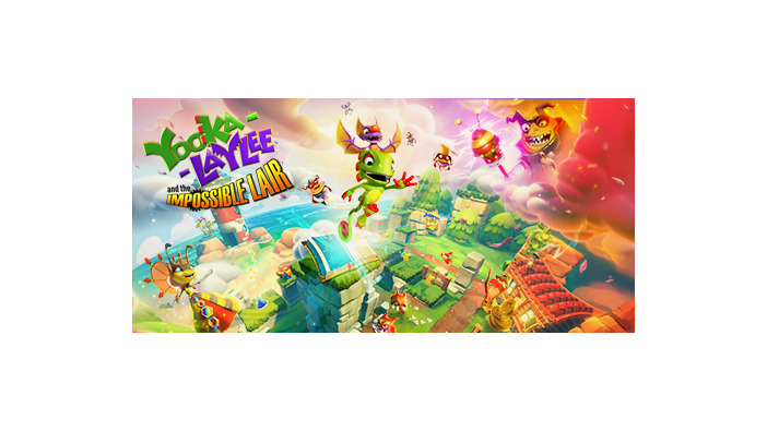 2.5DアクションADV『Yooka-Laylee and the Impossible Lair』発表―トレイラー初公開