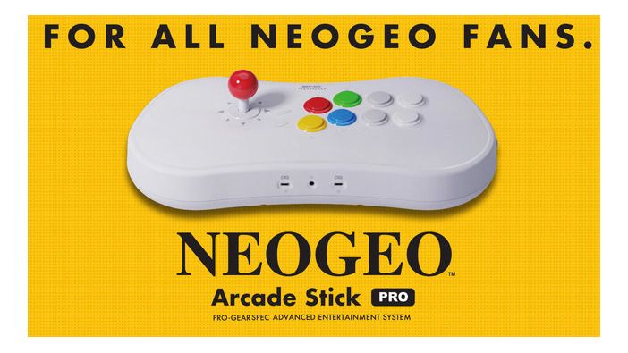 「NEOGEO Arcade Stick Pro」収録タイトルや独自機能といった製品特徴を公開!厳選の格闘ゲーム20作品は必見