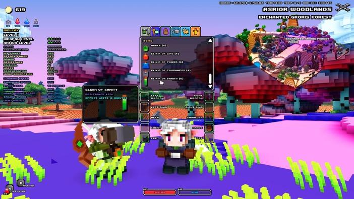 ボクセルベースのアクションRPG『Cube World』ローンチトレイラー公開