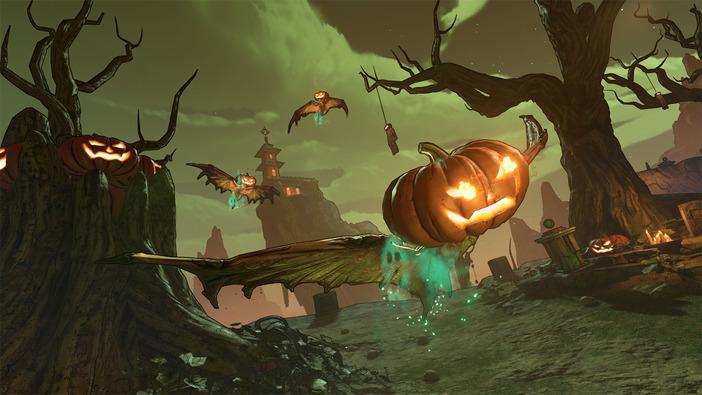 『ボーダーランズ3』10月の期間限定イベント「血まみれ収穫祭」の内容が公開!各種スキンやアクセサリー、新装備も