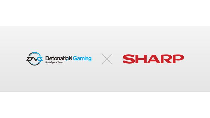 「DetonatioN Gaming」がシャープとスポンサーを締結!モバイルe-Sportsタイトルの更なる強化も