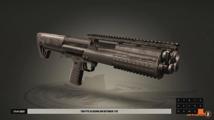 『ディビジョン2』大型アップデート「TU6」新情報が続々登場!装備タレント重複無効、新武器「KSG」など