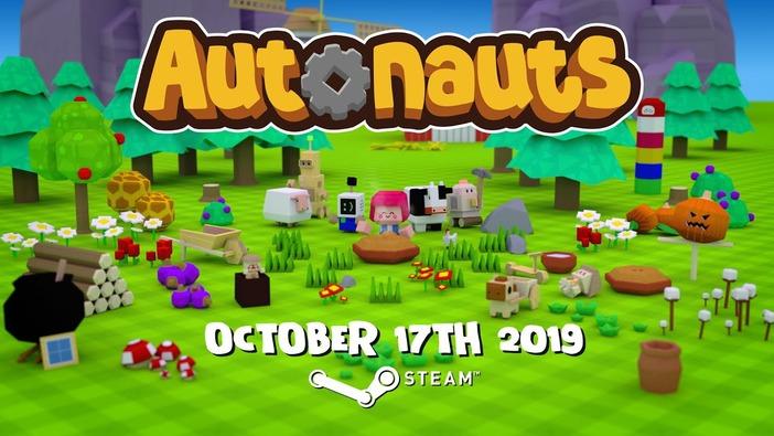 AIコーディング&開拓地マネジメントシム『Autonauts』10月17日発売―あらゆる作業の自動化を目指せ