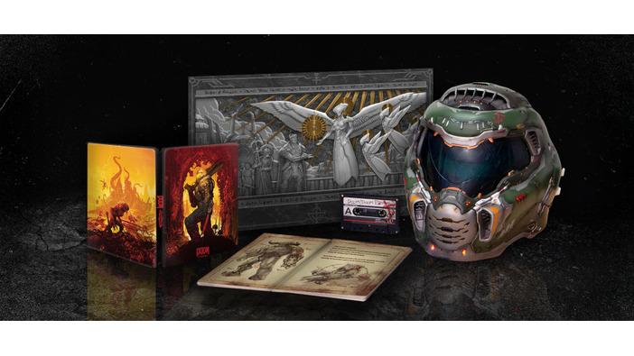 実際に被れるヘルメット付き!『DOOM Eternal Collector's Edition』が国内で予約受け付け開始