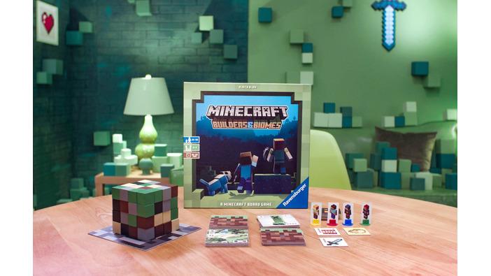 『マインクラフト』ボードゲーム『Minecraft: Builders & Biomes』発表!