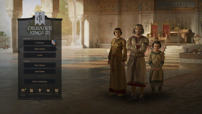 『Crusader Kings III』