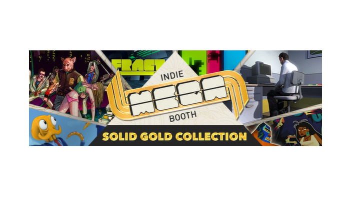 人気インディー作品が集結!Steamで「Indie MEGABOOTH - Solid Gold Collection」が配信